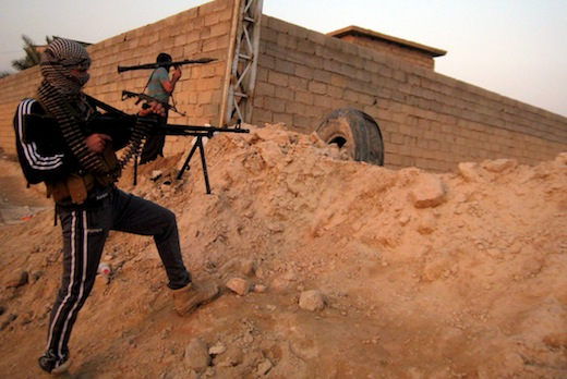 Anbar city of Fallujah, Iraq Photo: AFP/Getty