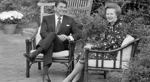 Margaret Thatcher και Ronald Reagan