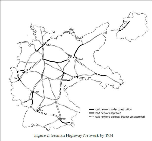Το-δίκτυο-των-εθνικών-οδών-το-1934