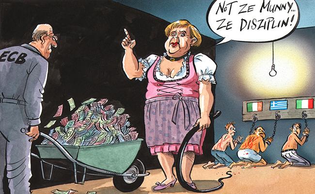 Γερμανία-Ελλάδα-πειθαρχία